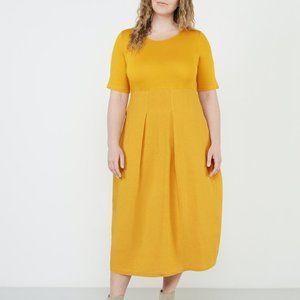 Isolde Roth O-Line Midi Dress